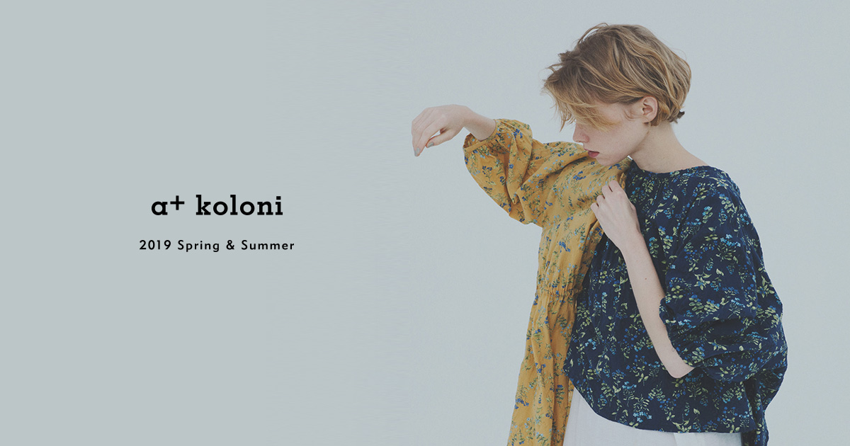 COLLECTION 2018 SPRING & SUMMER